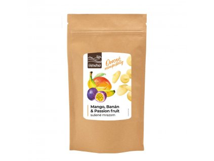 ovocné minipiškóty mango,banan&passionfruit