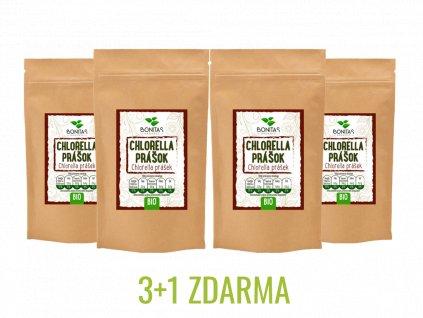 3+1 chlorella