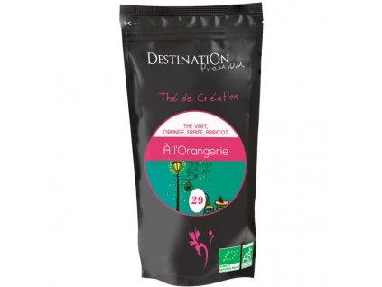 BIO Zmes zeleného čaju Orangerie DESTINATION 80g