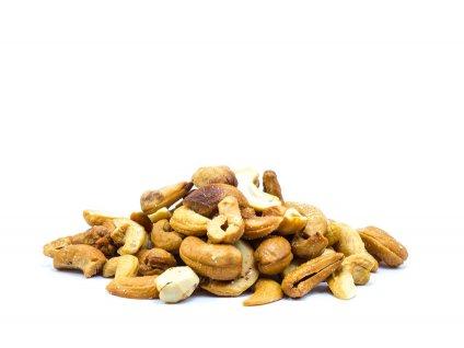Kešu orechy pražené solené údené FARMLAND bez obalu