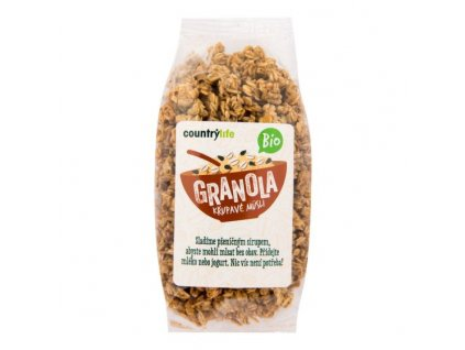 BIO Granola - chrumkavé ovsené müsli COUNTRY LIFE 350g