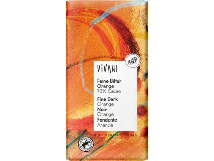 vivani horka cokolada pomerancova 70procent 100g