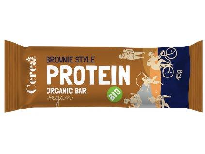 BIO Proteínová tyčinka Brownie CEREA 45g