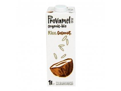 BIO Nápoj ryžovo-kokosový PROVAMEL 1l