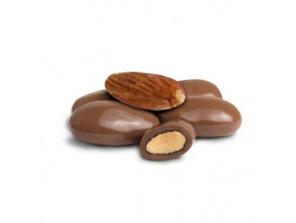 mandle v mliečnej čokoláde 600x600