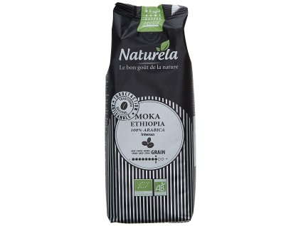 Káva zrnková ETHIOPIA BIO 250g