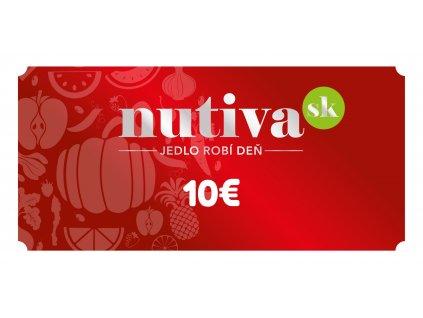 Poukážka v hodnote 10€