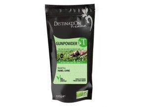 Destination BIO Sypaný čaj zelený Gunpowder 100g