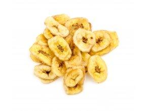 banánové chipsy bez obalu