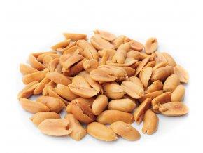arašidy nesolené bez obalu