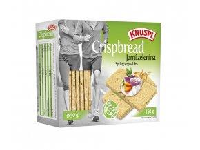 Knuspi Crispbread jarná zelenina