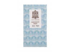 Ajala Tmavá čokoláda - Kokosový krém 55% cacao 45g