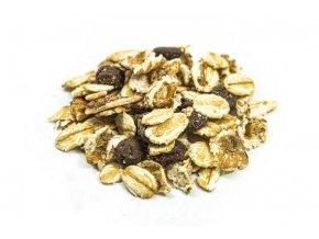 musli s orechami a cokoladou