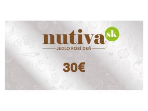 Poukážka v hodnote 30€