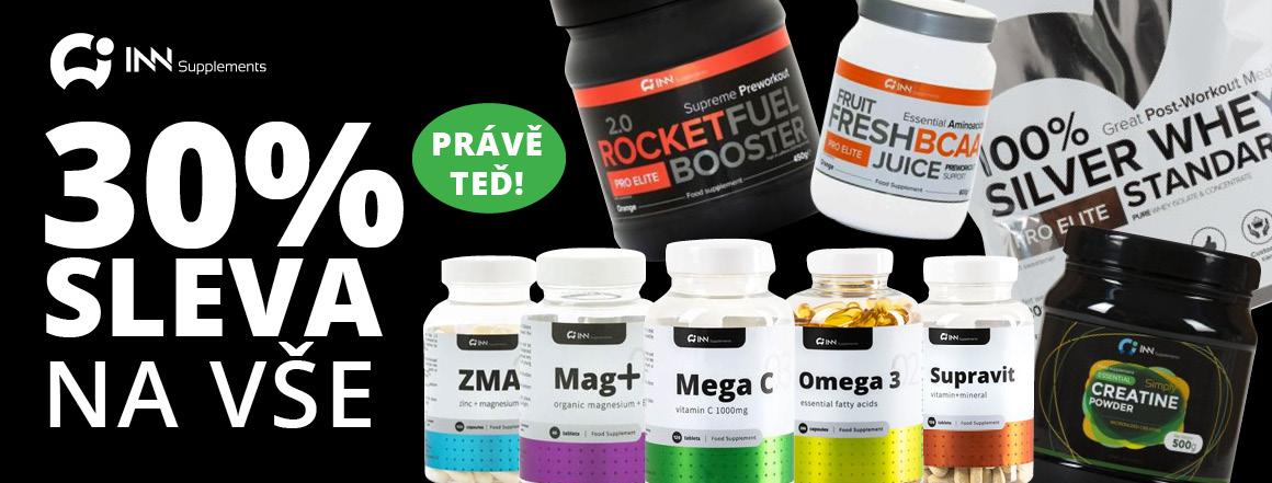INN Suplements 30% Sleva na Vše produkty