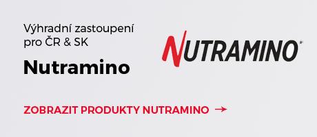 Výhradní zastoupení značky Nutramino