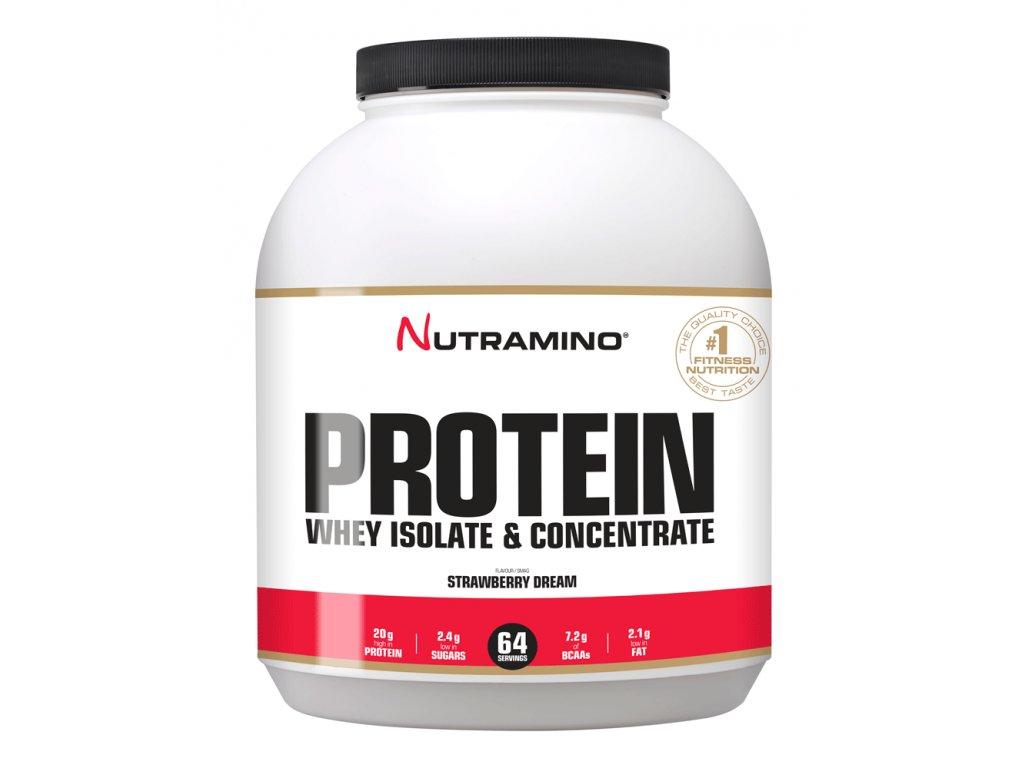 mockup WHEY Protein strawberry 1,8