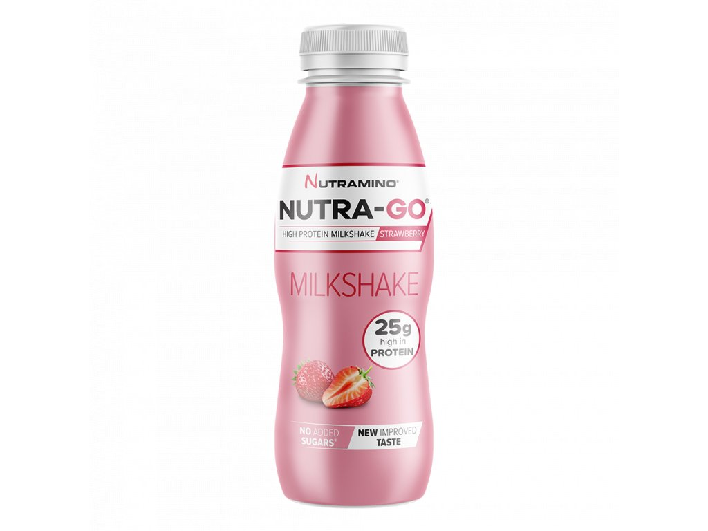 Nutra Go Milkshake Strawberry 330ml NEW