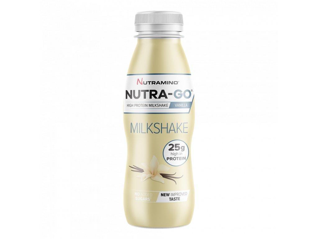 Nutra Go Milkshake Vanilla 330ml NEW