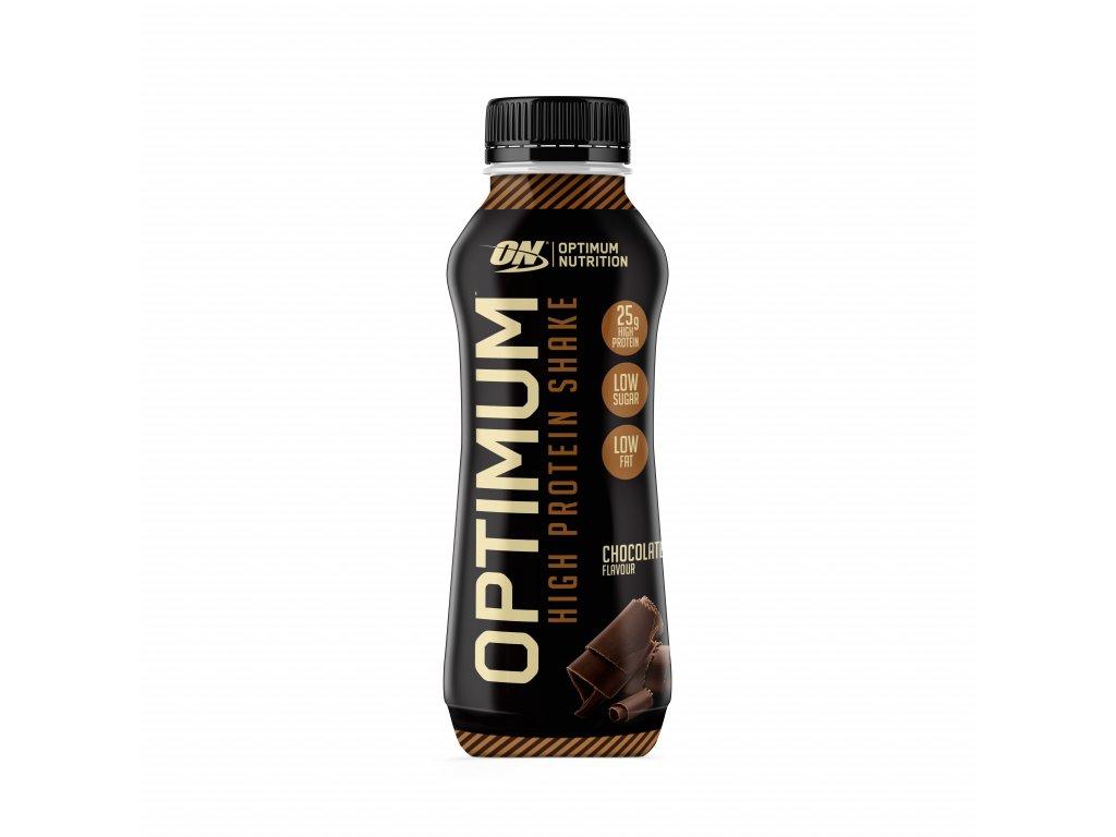 optimum protein shake prichut cokolada 330ml nutramino cz