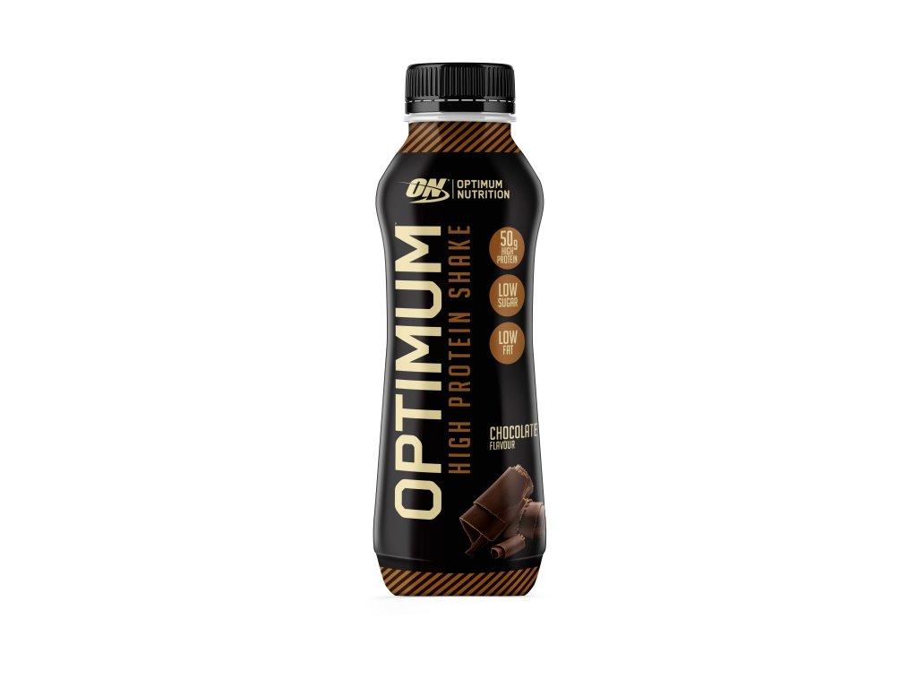 optimum protein shake prichut cokolada 500 ml nutramino.cz