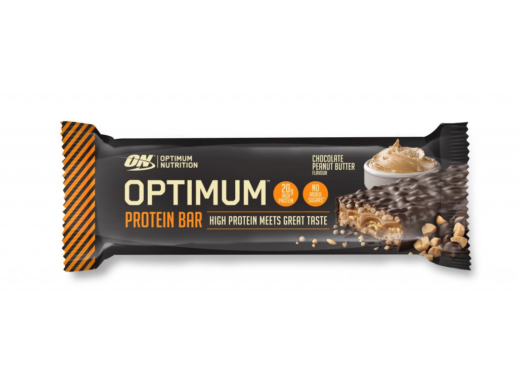 optimum proteinova tycinka burakove maslo 62g nutramino cz