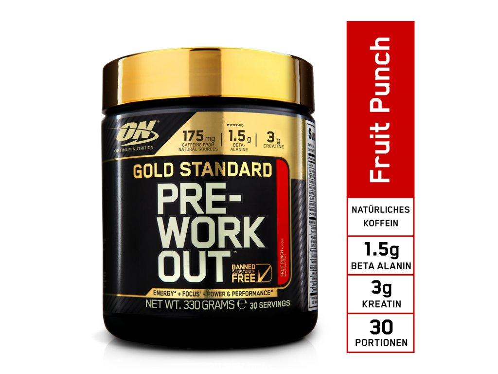 DE EU ON GS Pre Workout 300g fruit punch