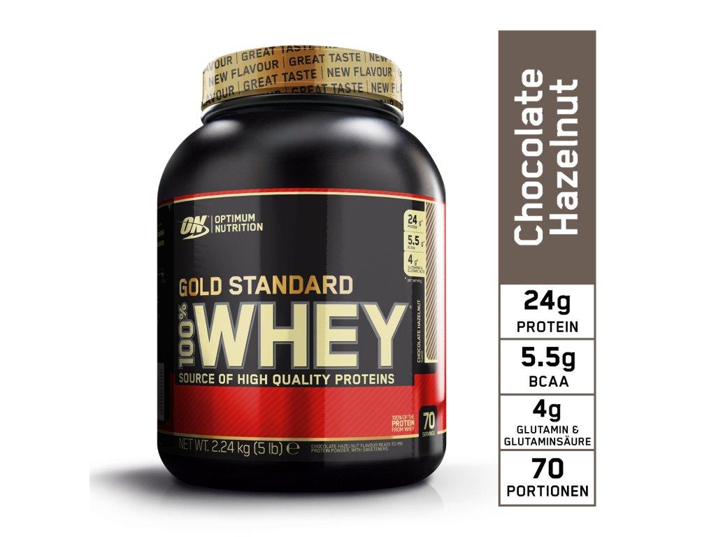 DE EU ON GS Whey 5lb 2.24kg chocolate hazelnut
