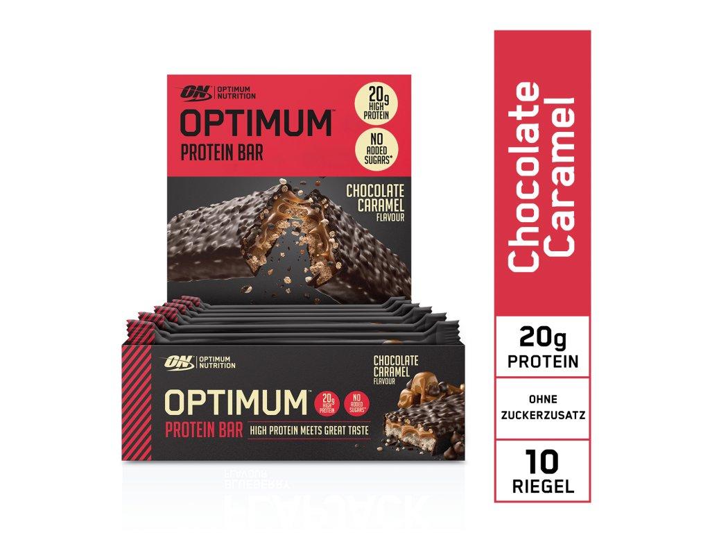 EU ON Protein Bar box chocolate caramel