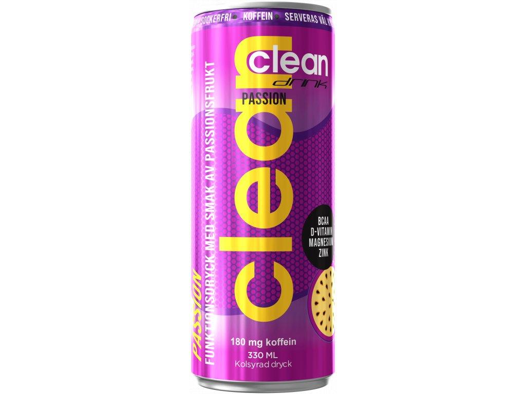 CLEAN DRINK BCAA ENERGETICKÝ NÁPOJ