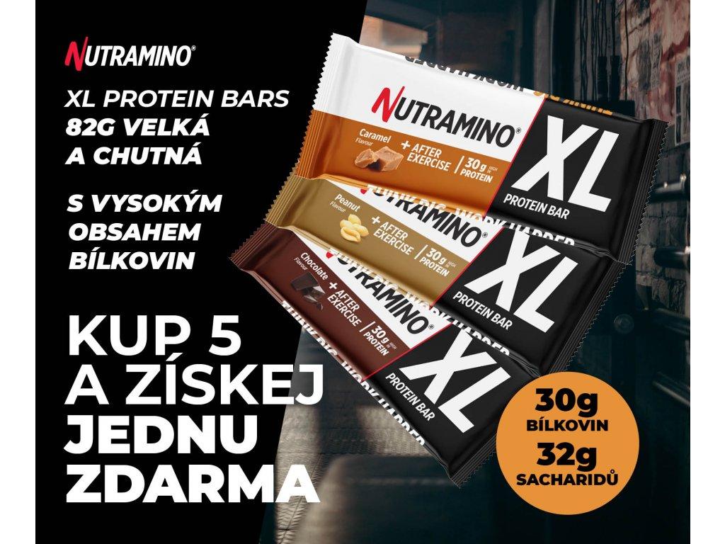 Promo Nutramino XL Bars mobile banner cz