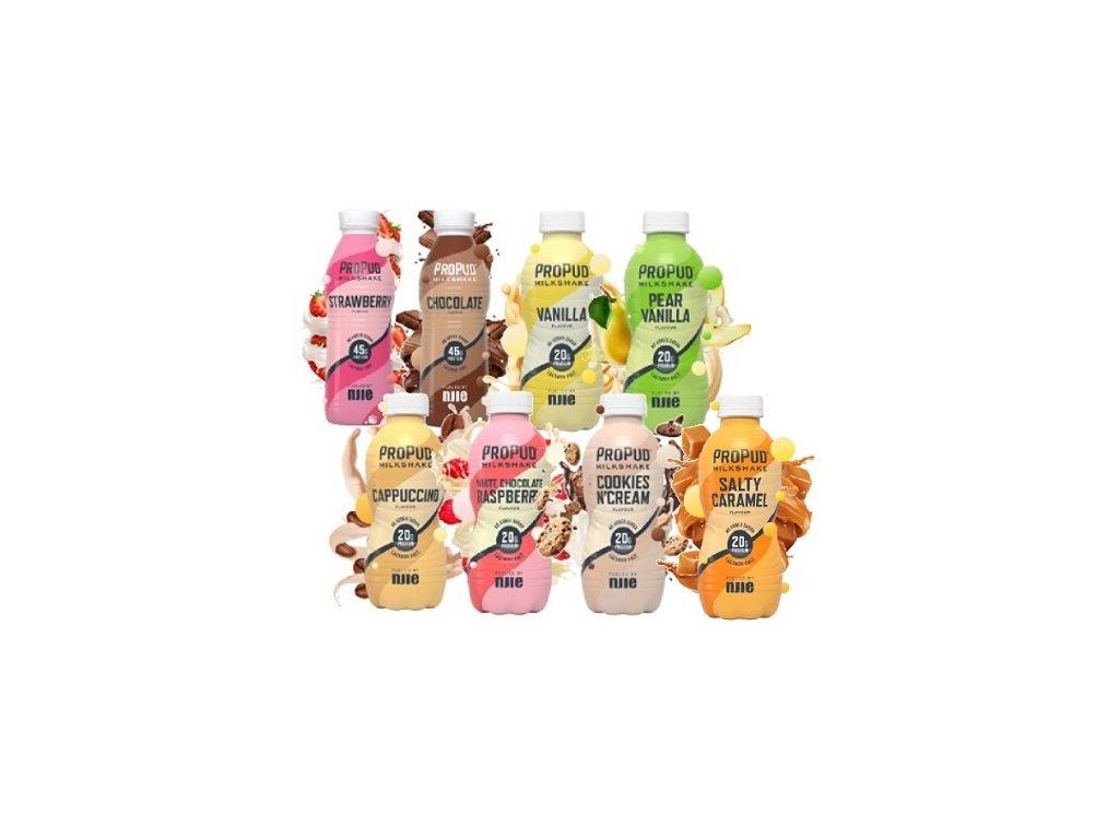 njie propud protein shake 330 ml original Mix last