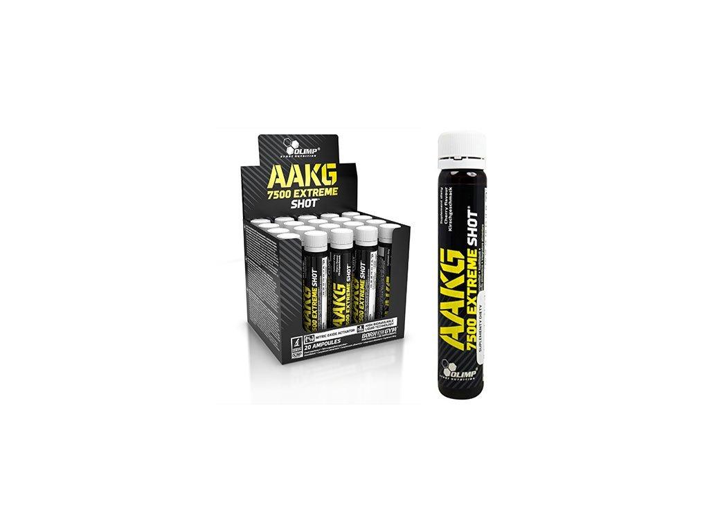 Olimp AAKG 7500 Extreme Shot Příchuť Třešeň - balení 20 kusů