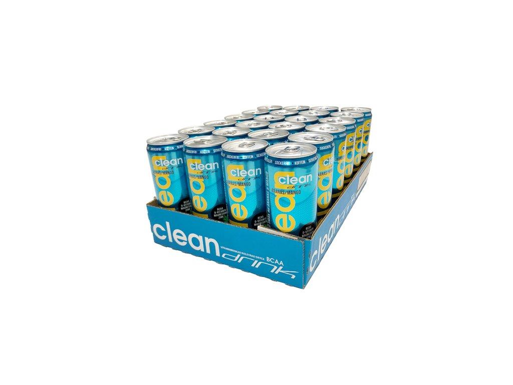 setcleandrink 24 x clean drink 330 ml