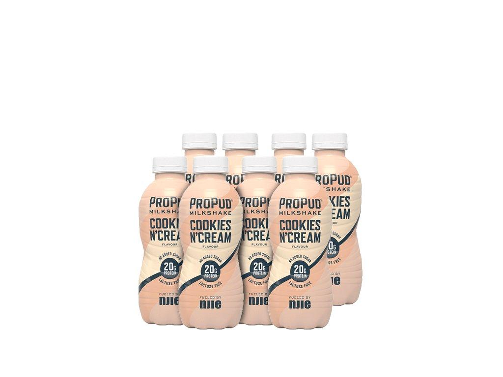 SA001491 ProPud 8x Protein Milkshake 330 ml cookies cream 1120
