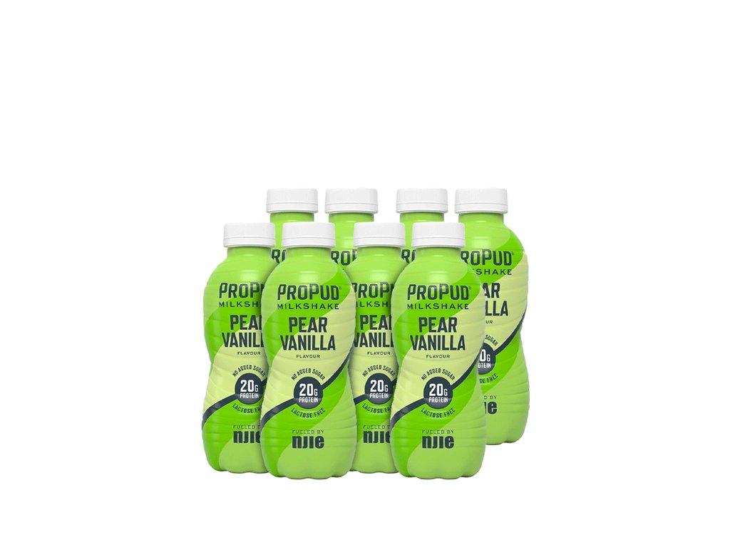 SA001491 ProPud 8x Protein Milkshake 330 ml pear vanilla 1120