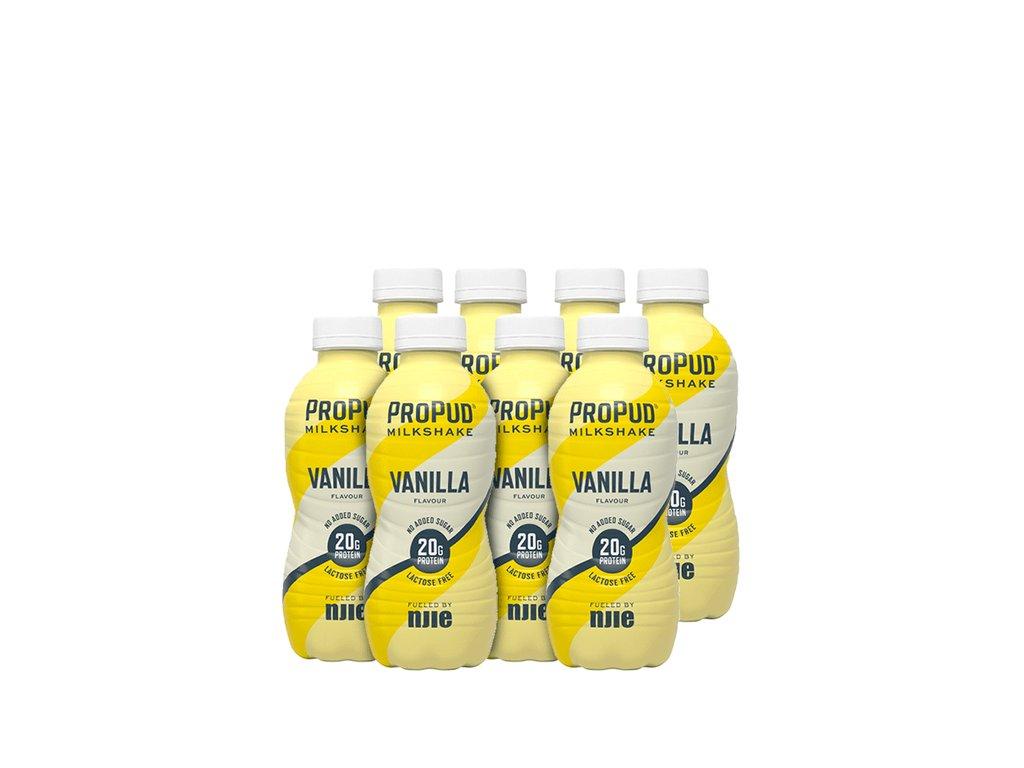 SA001491 ProPud 8x Protein Milkshake 330 ml vanilla 1120