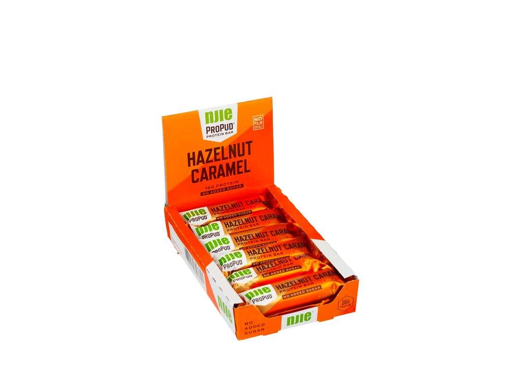 FP73181R ProPud Protein Bar 55g Hazelnut caramel 1220