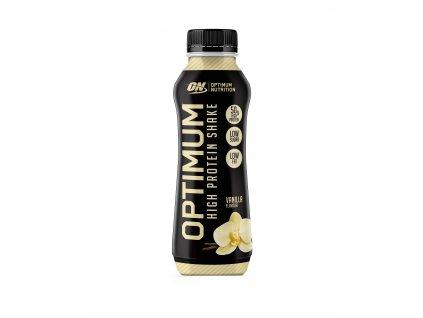 optimum protein shake prichut vanilka 500 ml nutramino.cz