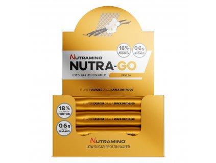 NutraGo Wafer Vanilla nutramino.cz