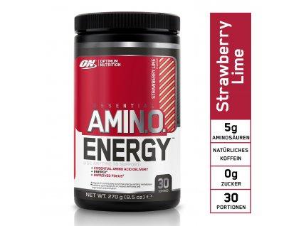 DE EU ON Amino Energy 270g strawberry lime