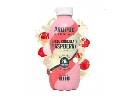Milkshake whitechocolate raspberry 330ml 878x1024