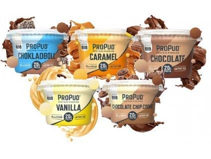 njie propud protein pudding 200 g original Mix Last
