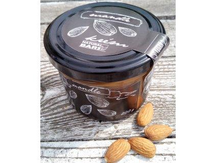 Ořechový krém - mandle