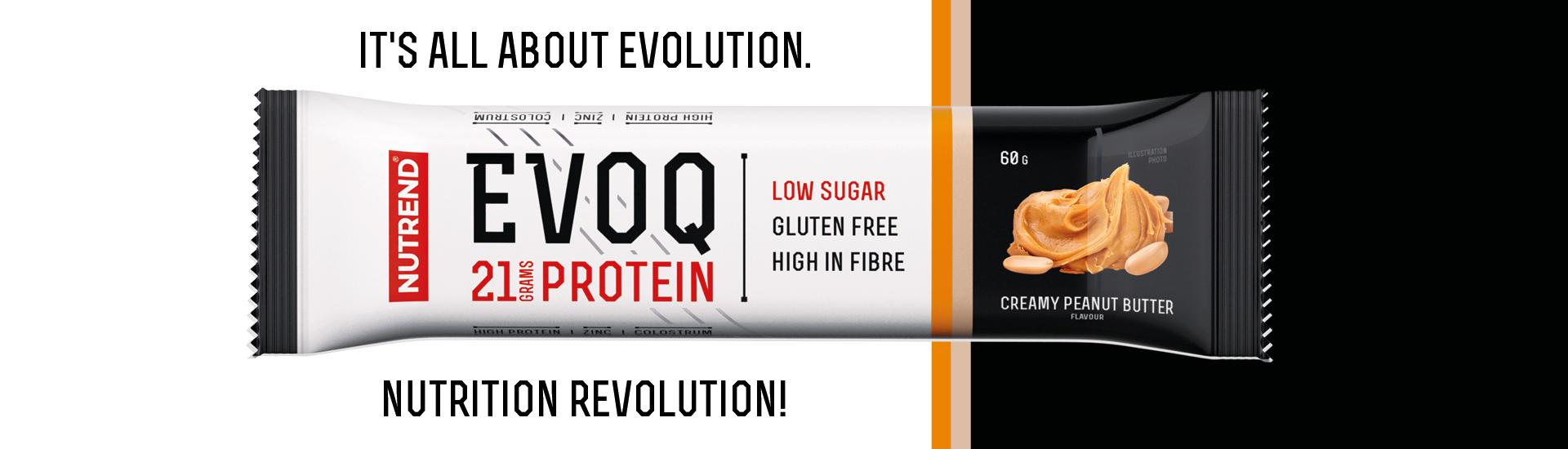 evoq 21% protein