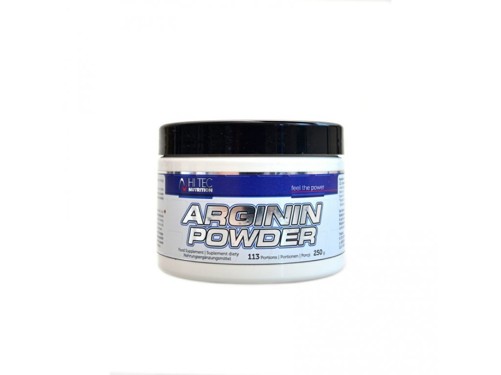 "Hi Tec Nutrition Arginin Powder 250g  + Kupón ""START"" na slevu -10%"