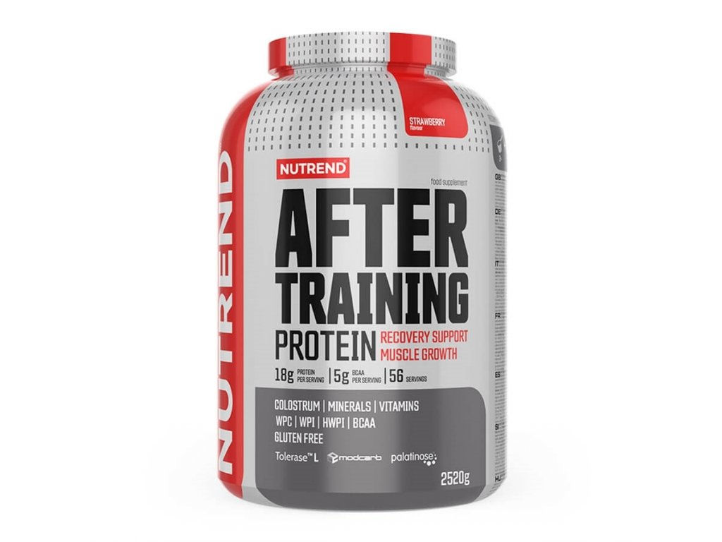 after training protein 2021 2250g strawberry