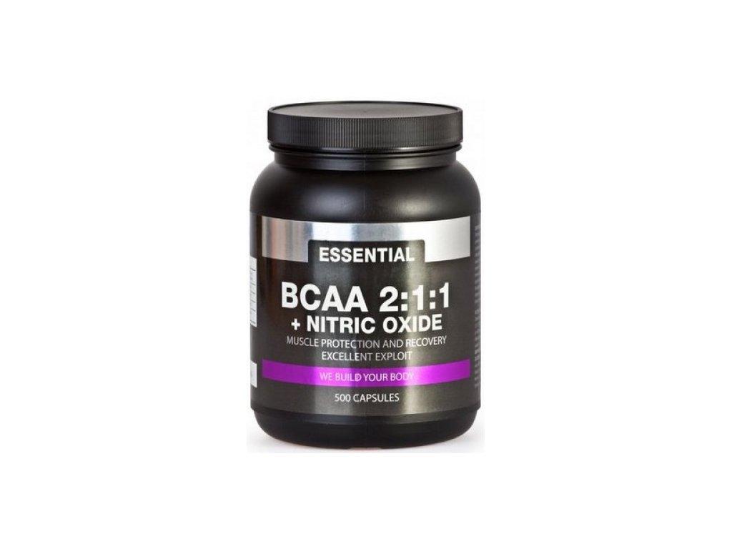 BCAA maximal 2:1:1 + nitrix oxide  500cps.