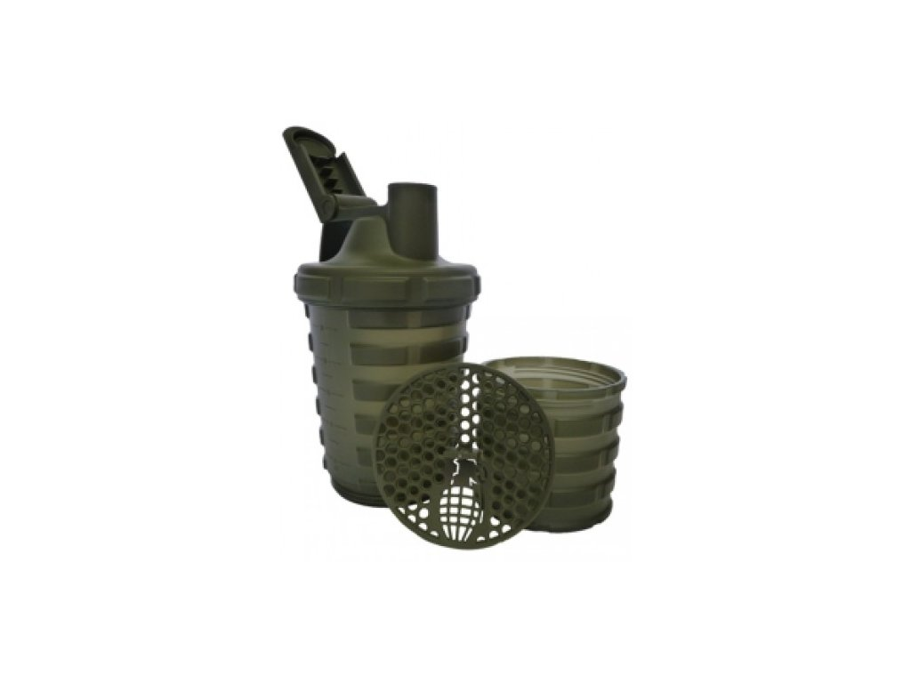 Šejkr Grenade 600ml se zásobníkem