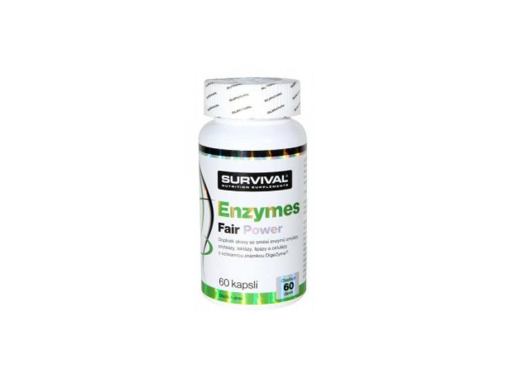 Survival Enzymes Fair Power 60cps.